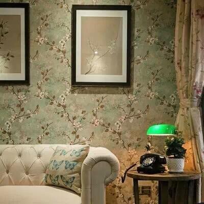 retro behangpapier slaapkamer – artsmedia, Deco ideeën