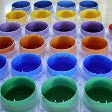 12″ Colored Chakra Quartz Crystal Singing Bowl for Medition yoga