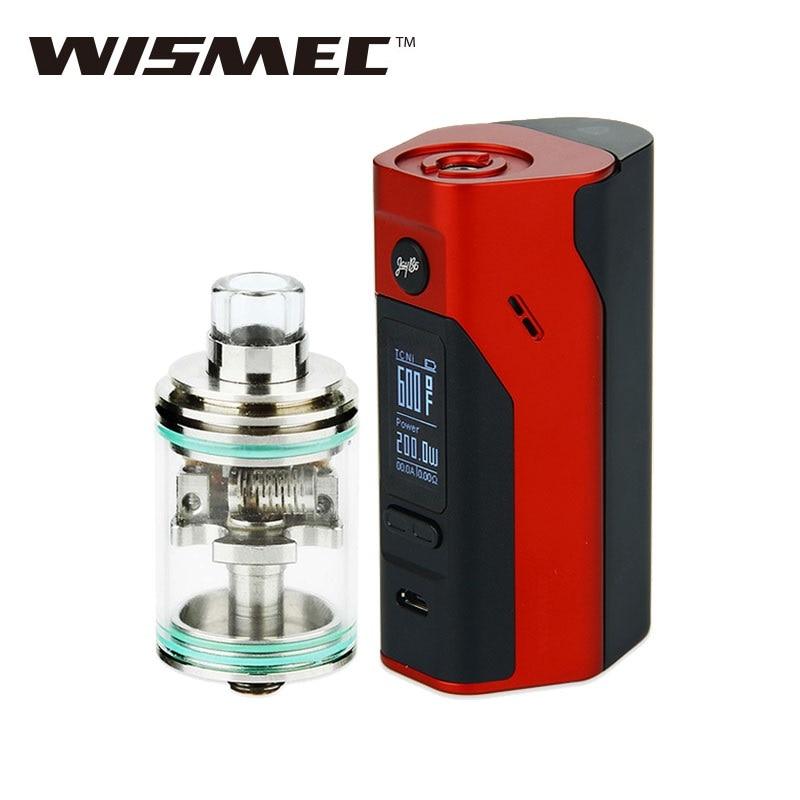 Electronic Cigarette WISMEC Reuleaux RX2/3 Box MOD TC Mode & Theorem RTA Rebuidable Atomizer VS Only rx 23 mod Vape NO Battery original wismec reuleaux rx200s 200w tc box mod