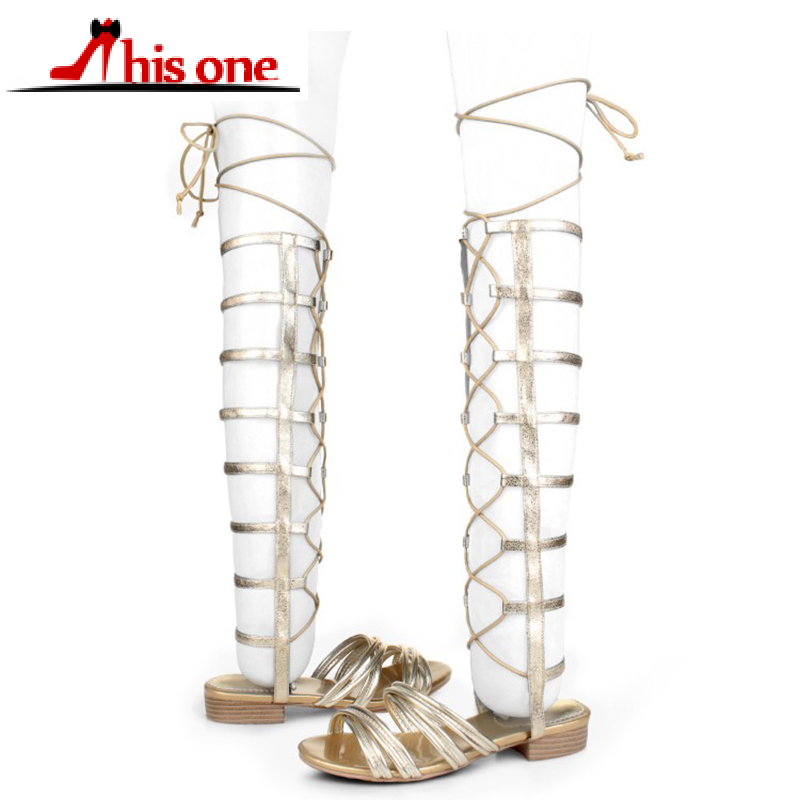 Road Track knee high Sandals Woman Summer Rome Cross-tied Lace-up Flat Comfort Sandals Ladies Hoof low Heels Shoes bootsRoad Track knee high Sandals Woman Summer Rome Cross-tied Lace-up Flat Comfort Sandals Ladies Hoof low Heels Shoes boots