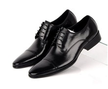 Мода Черный/коричневый загар оксфорды офисные туфли мужские туфли из натуральной кожи свадебные туфли острым носом мужские бизнес обувь