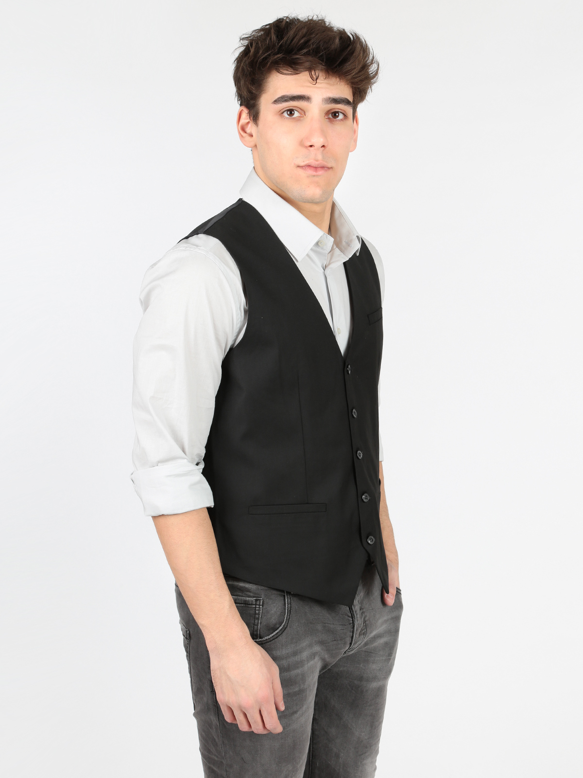 Black Vest Elegant