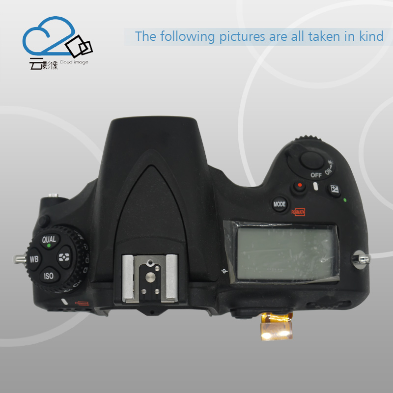 D810 Top Cover Shell with top LCD,flash board,Flex cable FPC for Nikon free shipping d610 top cover for nikon d610 with flash board top lcd fpc unit slr camera repair replacement parts