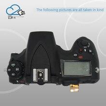 D810 верхняя крышка В виде ракушки с топ ЖК-дисплей, вспышка, шлейф Гибкие печатные платы для Nikon