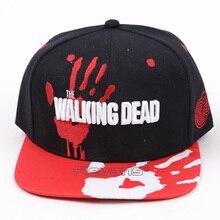 Hombres Mujeres The Walking Dead gorras algodón béisbol sombrero Hip Hop  Snapback gorra 2 estilos( 2bc46400b80