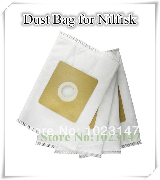 5 pieces/Lot Vacuum Cleaner Bags Dust Bag Filter Paper Bag For Nilfisk Coupe Neo,Action A100,GM100,Neo Red etc. !
