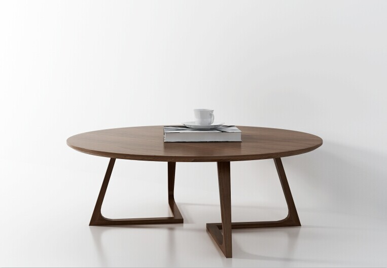 Nordic Minimalist Modern Clic Round Coffee Table Restaurant Office Commercial Size Units Ikea Furniture In Tables From On