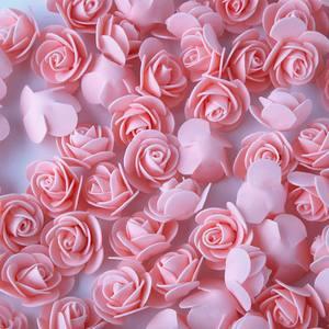 Image 4 - 1Pcs 폴리스티렌 스티로폼 흰색 거품 곰 금형 인공 꽃 머리 장미 테디 발렌타인 데이 선물 파티 웨딩 장식