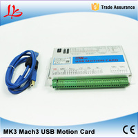 3 Axis USB Mach3 Motion Control Card Four Axis Breakout Interface Board For CNC Router