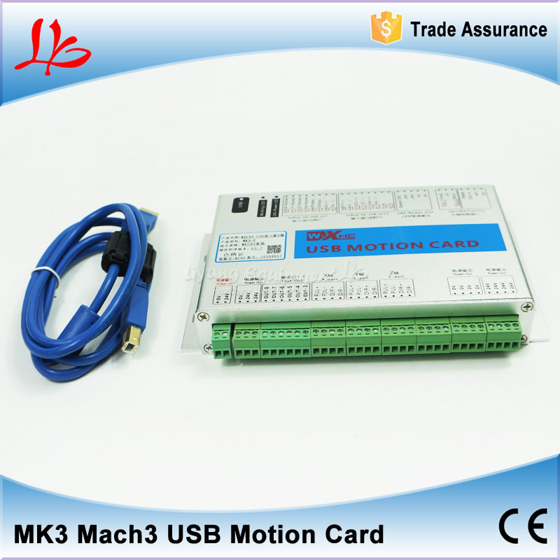 3 axis USB mach3 motion control card three axis breakout interface board for CNC router 4 axis usb mach3 motion control card four axis breakout interface board for cnc machine