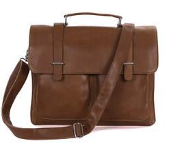 Цена оптовой продажи Пояса из натуральной кожи насыщенный Коричневый портфели Курьерские сумки для кожи Мужские Портфели Для мужчин