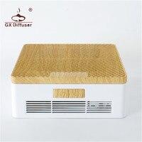 GX.Diffuser Car Air Purifier Clean Air Ozone Portable Air Purifier HEPA Dust Collection Filter