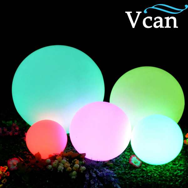 30cm Led Glow Ball Light Color Changing Remote Control