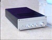 AT100 TDA7293 HIFI Amplificador de Potência de 100 w * 2 Digital Amp