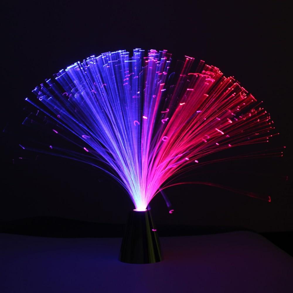 3mm Colorful Auto Slowly varying Fiber Optic Light Source Guide illuminator TW