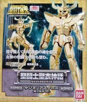 BANDAI MODEL Kit Model Toy Saint Seiya Sagittarius Aioros Myth Cloth GALAXY WAR NUEVO Action Figures