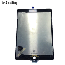 100% New Grade LCD Display Touch Screen Digitizer Assembly Replacement For Apple iPad 6 Air 2 A1567 A1566 9.7