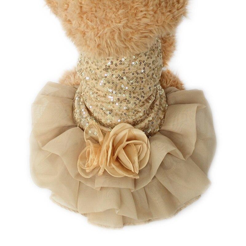 Armi store Big Flower Design Dog Dresses Dogs Princess Wedding Dress 6073019 Pet Products Clothing XS S M L XL