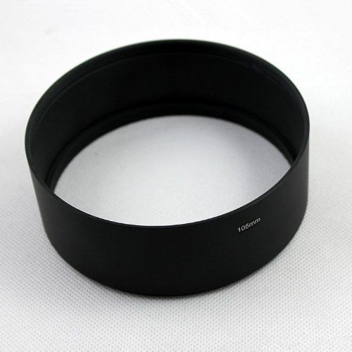86 95 105 mm Telephoto Metal camera Lens Hood cover with Filter Thread Length 39mm for canon nikon pentax camera doumoo 330 330 mm long focal length 2000 mm fresnel lens for solar energy collection plastic optical fresnel lens pmma material