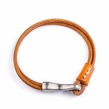 fashion snap jewelry buttons cuff bracelets for women cross love bangles,punk genuine leather bracelet men wrap h charm bracelet