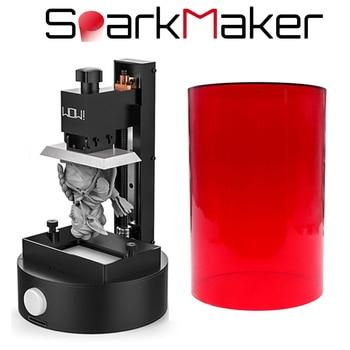 Sparkmaker UV שרף 3d מדפסת אור ריפוי 98*55*125mm לבנות נפח SLA/LCD/DLP 3d מדפסת