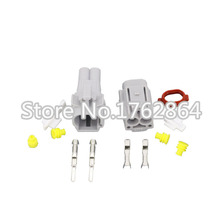 10 Sets/Kit 2 Pin/Way Waterproof Electrical Wire Connector DJ70218Y-2.2-11/21 Male and female Automobile Connector цены онлайн
