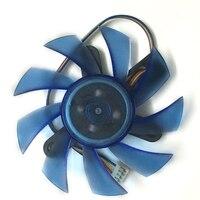 Diameter 75mm FD8015U12S Computer Radiator Blower VGA Cooler Fan For XFX HD7770 FX 777A ZNB Video