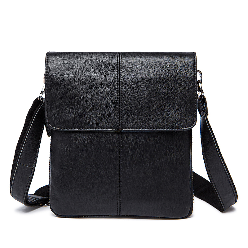 MVA Genuine Leather Casual Crossbody Messenger Bag For Men acc9823e95b47