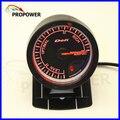 """2.5 """"60 MM DF Avanço CR Medidor de Relação de Combustível Ar Calibre Cara Preta/CALIBRE AUTO"""