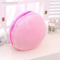 New Throw Macarons Lovely Pillow Cushion Plush Naps Toy Gift For Boys Girls All Ages Household
