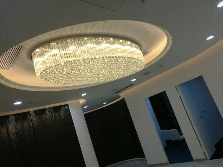 Plafoniere In Cristallo Miglior Prezzo : Acquista ovale soggiorno in cristallo lampada ristorante camera da