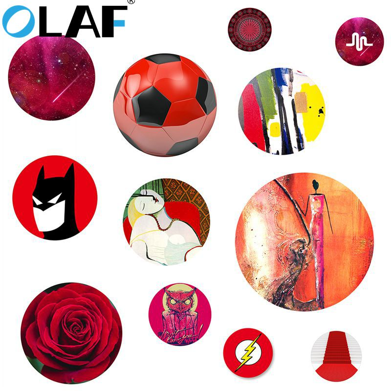 OLAF Red Rose Finger Pop Phone holder for Android Smartphone Desk Mobile phone holder Universal for all Phone