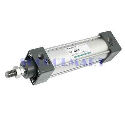 1Pcs SC 40-100 Single Rod Double Action Pneumatic Air Cylinder sc50x75 single rod double action pneumatic air cylinder