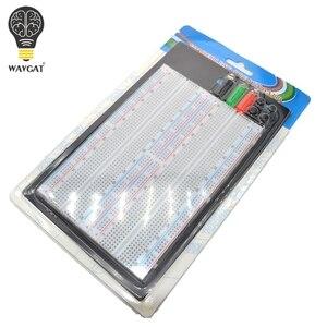 Image 1 - WAVGAT SYB 1660 הלחמה טיפוס Protoboard 4 אפיק המבחן Circuit Board עניבת נקודות 1660 ZY 204