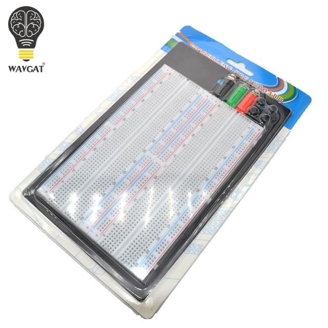 WAVGAT SYB 1660 הלחמה טיפוס Protoboard 4 אפיק המבחן Circuit Board עניבת נקודות 1660 ZY 204