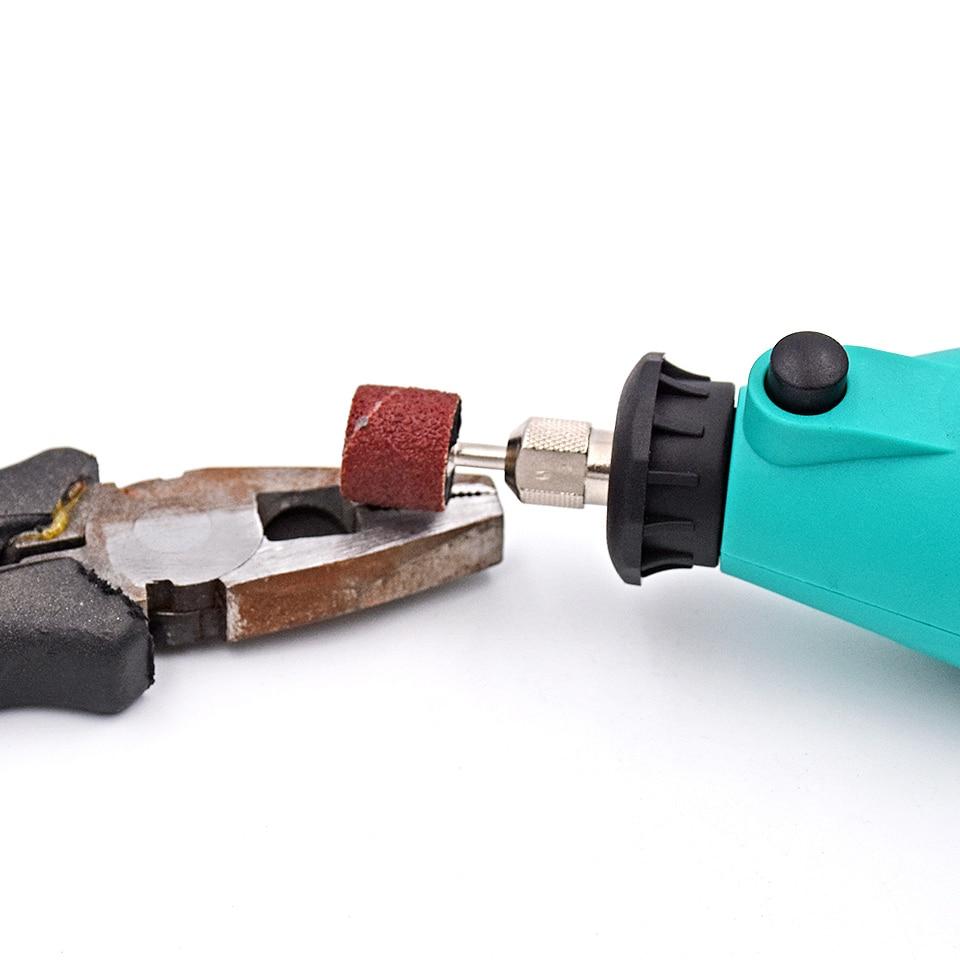 50vnt. 80 # Būgnų šlifavimas su 3vnt šlifavimo juostų antgaliais - Abrazyviniai įrankiai - Nuotrauka 4
