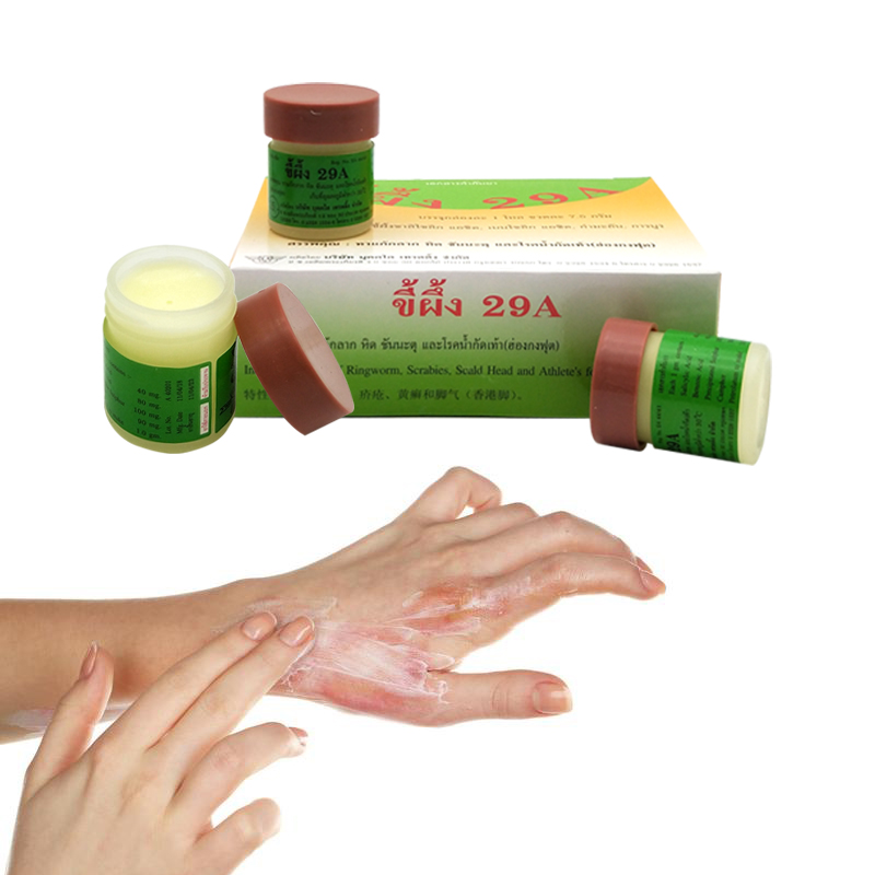 <font><b>Thailand</b></font> 29A Natural Ointment Psoriasi Eczma Cream Works Really Well For Dermatitis Psoriasis Eczema Urticaria Beriberi image