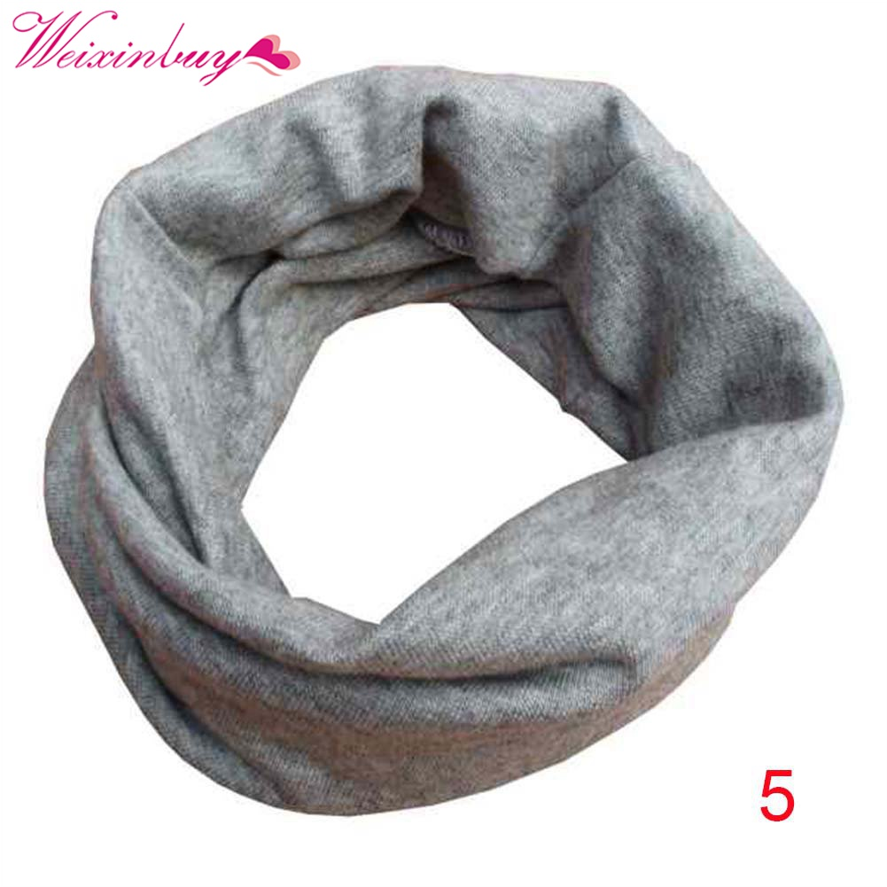 18 Color Baby Boys Girls Warm Scarf Cotton Neck Shawl Neckerchief Toddler Kids Scarves fine gauze painted butterfly shawl scarf