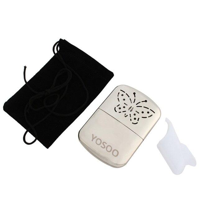 Farfalla Portable Fuel Scaldino della Mano Riutilizzabile Platino Da Tasca di Se