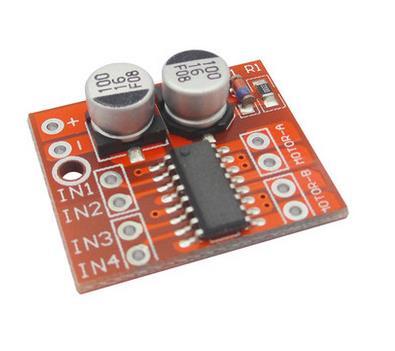 2 kanäle gleichstrommotor antriebsmodul pwm drehzahlregelung dual H ...