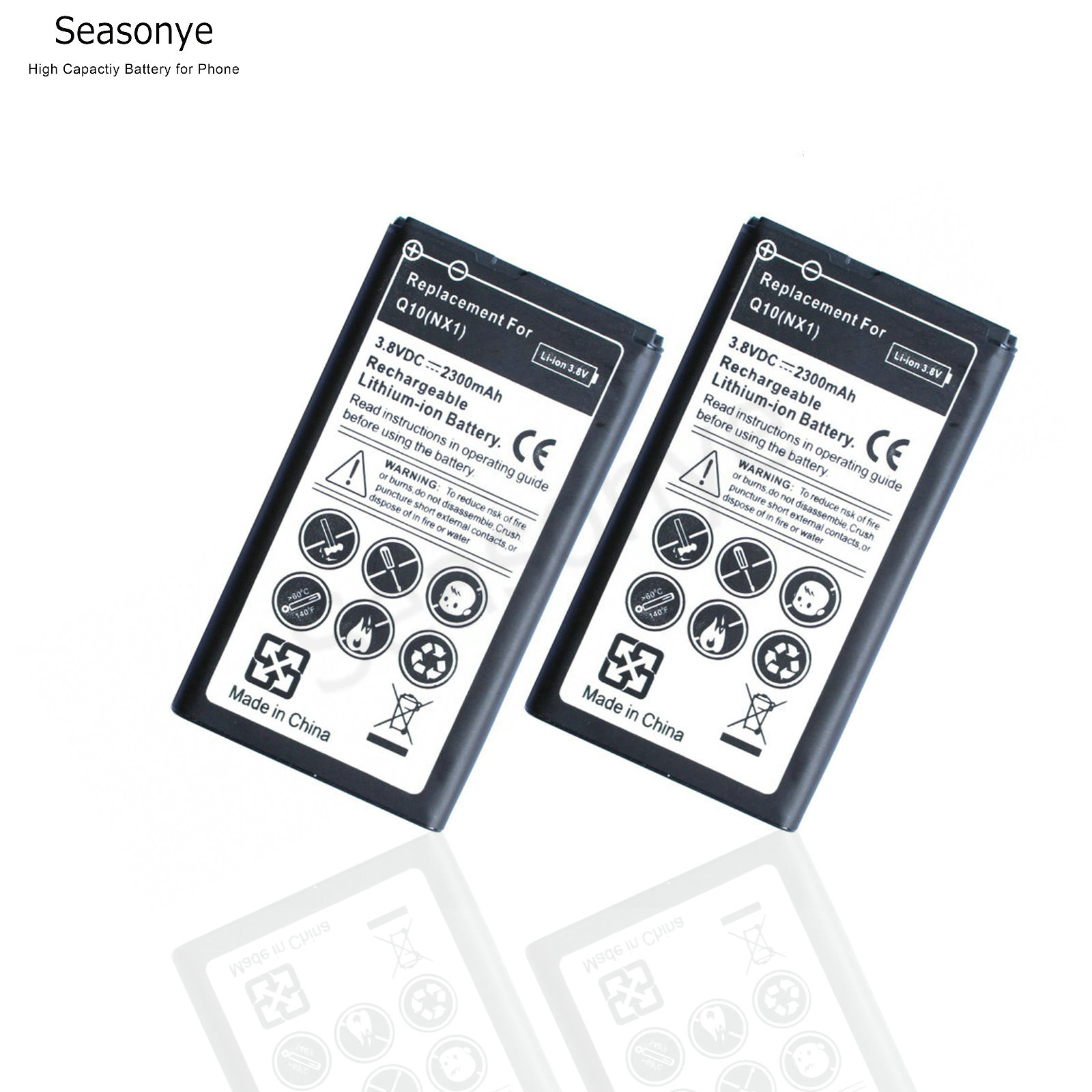 Worldwide delivery blackberry q10 battery nx1 in Adapter Of