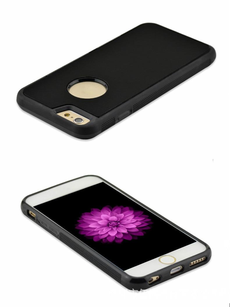 Iphone 6 6s 7 Plus 5s üçün yeni anti-cazibə telefon qutuları - Cib telefonu aksesuarları və hissələri - Fotoqrafiya 6