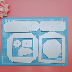 Image 3 - Picture Frame Metal Cutting Dies For photo and Picture Stencils For DIY Scrapbooking Embossing Paper Card Die Cutting