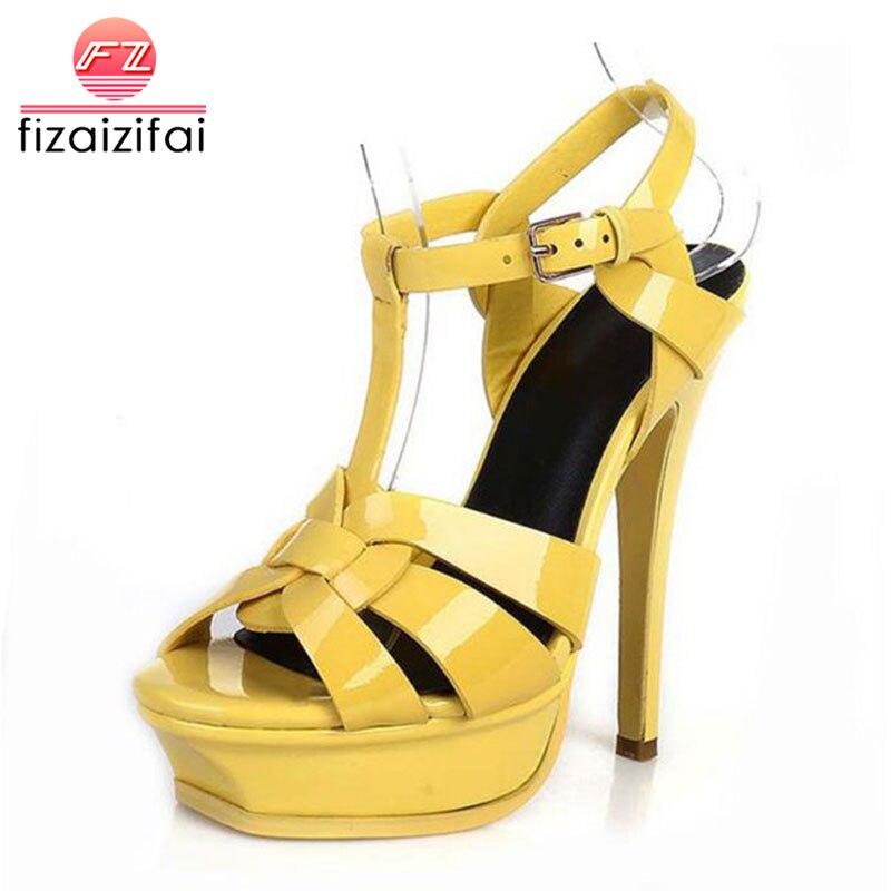 70bd666e70 Comprar FizaiZifai Frete Grátis Qualidade Genuína Sapatos De Couro ...
