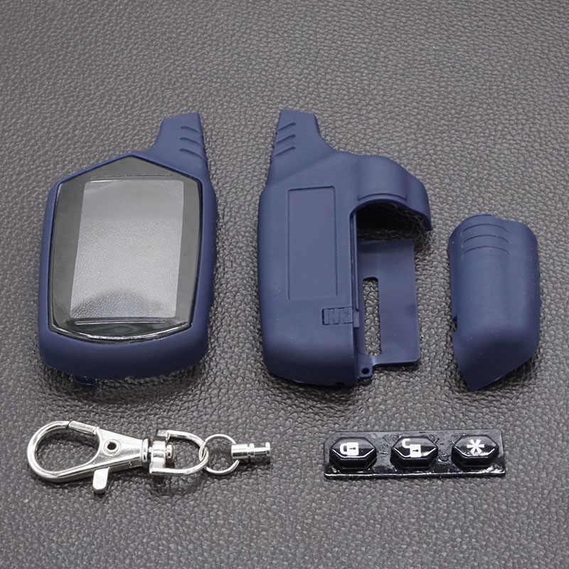 Caso Chaveiro Para Starline Starline A91 A91 A61 B9 B6 Lcd Dois Sentidos Remoto do Sistema de Alarme de Carro Auto Veículo Profissional acessórios