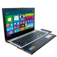 8 ГБ Оперативная память + 1000 GB HDD 15,6 дюйма Intel Pentium N3520 4 ядра ноутбук с системой Windows 7 Тетрадь DVD-RW для Office для дома