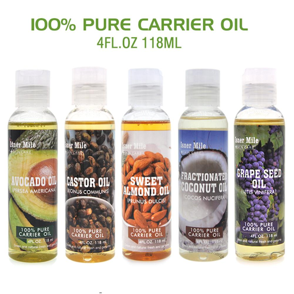 Oils Skin-Care Coconut-Almond Avocado Natural-Massage Pure-Essential-Oil Body Oil-Moisturiser