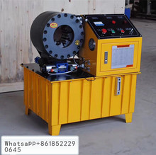 swaging pressing 1 4 to 2 4 wires crimping machine pressure hoses