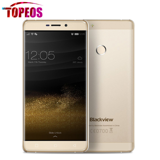 "Original Blackview R7 Mobile Phone 5.5"" inch MT6755 Octa Core 2.0GHz Android 6.0 4GB RAM+32GB ROM 1920*1080 13MP FingerPrint ID"