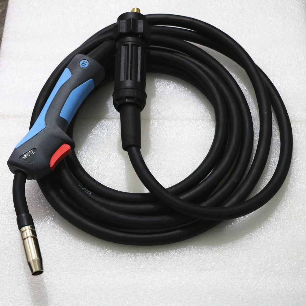 CO2 Mig Mag Welding Torch Aircooled MB 15AK  5M Adapter EURO